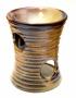 Аромалампа керамическая  полосатая