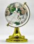 Глобус хрустальный цветной