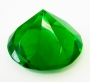 Кристалл хрустальный зеленый